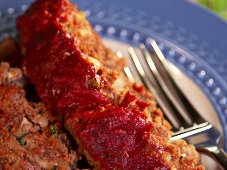 Homestyle Meatloaf recipe from Paula Deen via Food Network