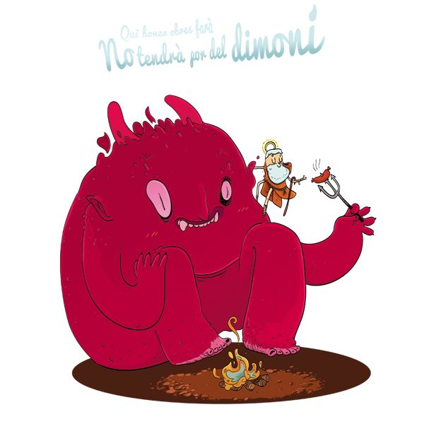 sant antoni i el dimoni melicoto - Buscar con Google