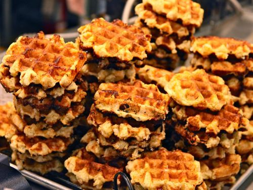 Taste of Belgium: the authentic waffle Had these in Columbus and they are AMAZING!! We've even had to mail order them, they are that good!