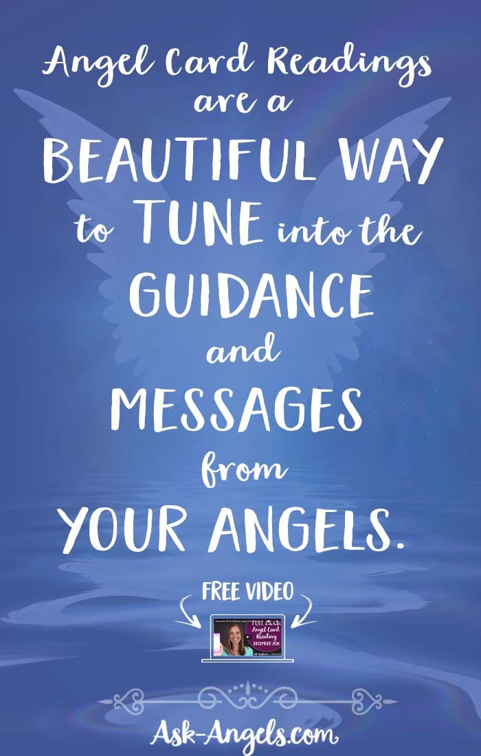 Angel Card Readings are a beautiful way to tune into the guidance and messages from your angels.