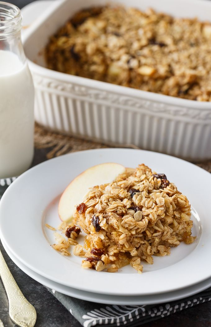 This Oatmeal Casserole recipe is a hearty, wholesome breakfast that will impress your family and friends! Plus, it's easy to make.