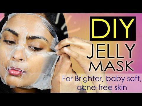 (10) DIY Sheet Mask: Brightening, Hydrating, Anti Aging Mask For ACNE FREE Skin Using Green Tea - YouTube
