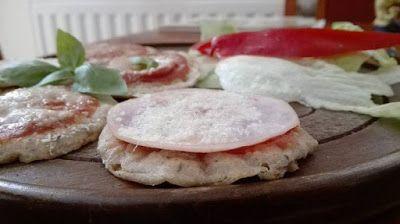 Éhezésmentes Karcsúság Szafival: tk-főétel              Serpenyős mini pizzák