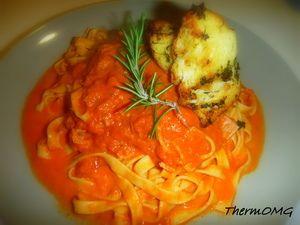 Vodka Tomato Pasta Sauce