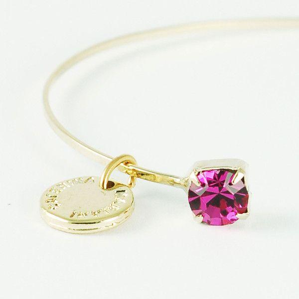 CATERINA MARIANI BIJOUX Swarovski Rose Bracelet | La Luce http://shoplaluce.com/collections/caterina-mariani-bijoux/products/caterina-mariani-bijoux-swarovski-rose
