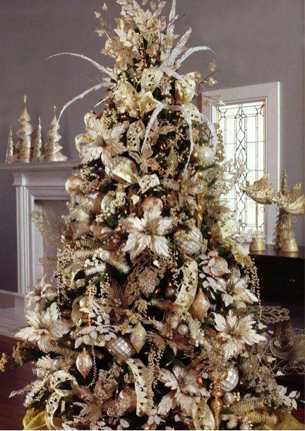 Christmas tree design pinterest beautiful white for White christmas tree pinterest