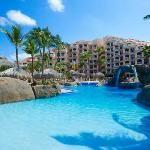 Playa Linda Beach Resort - one of THE best resorts ever.  Love Aruba.