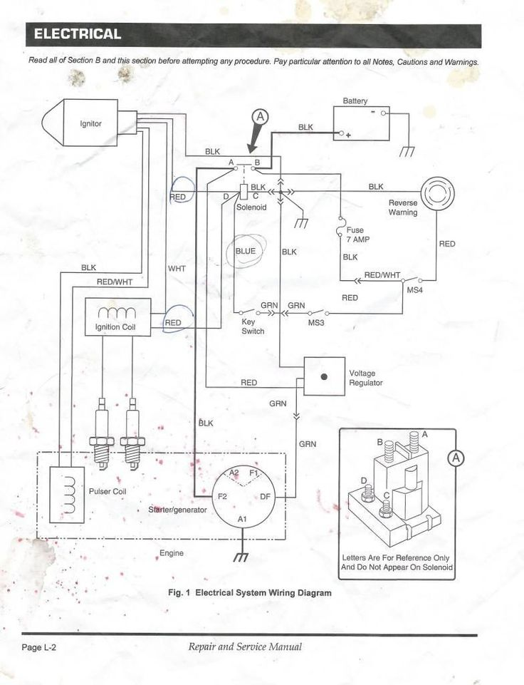 ez go electric golf cart wiring diagram  wire diagram 2000