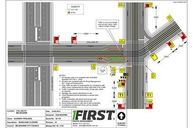 First Traffic Management will prepare detailed #TrafficPlans within 48 Hours of our Site Visit with you.   First Traffic Management offer FREE Traffic Plans if we are engaged to supply the Traffic Controllers and Signage Vehicles for the implementation of these #TrafficPlans. http://www.firsttraffic.com.au/#!traffic-plans/c1rt5