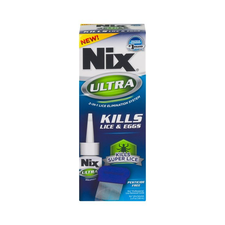 Nix Ultra 2-IN-1 Lice & Eggs Solution - 3.4 oz