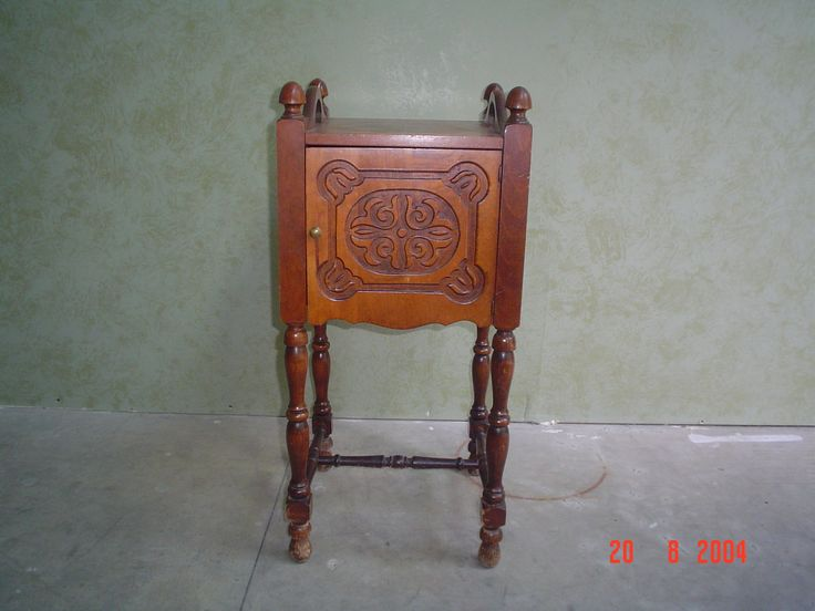 #small #corner #table for #refinishing by AM Furniture Finishing in 2004