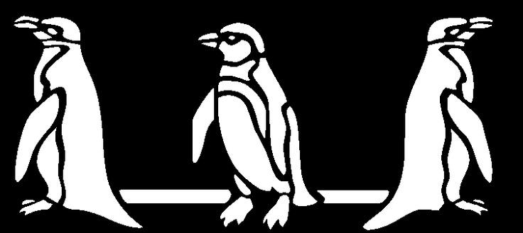 Baño Para Jardin Infantil:de pingüinos? Es muy adecuada para un cuarto infantil, un cuarto de