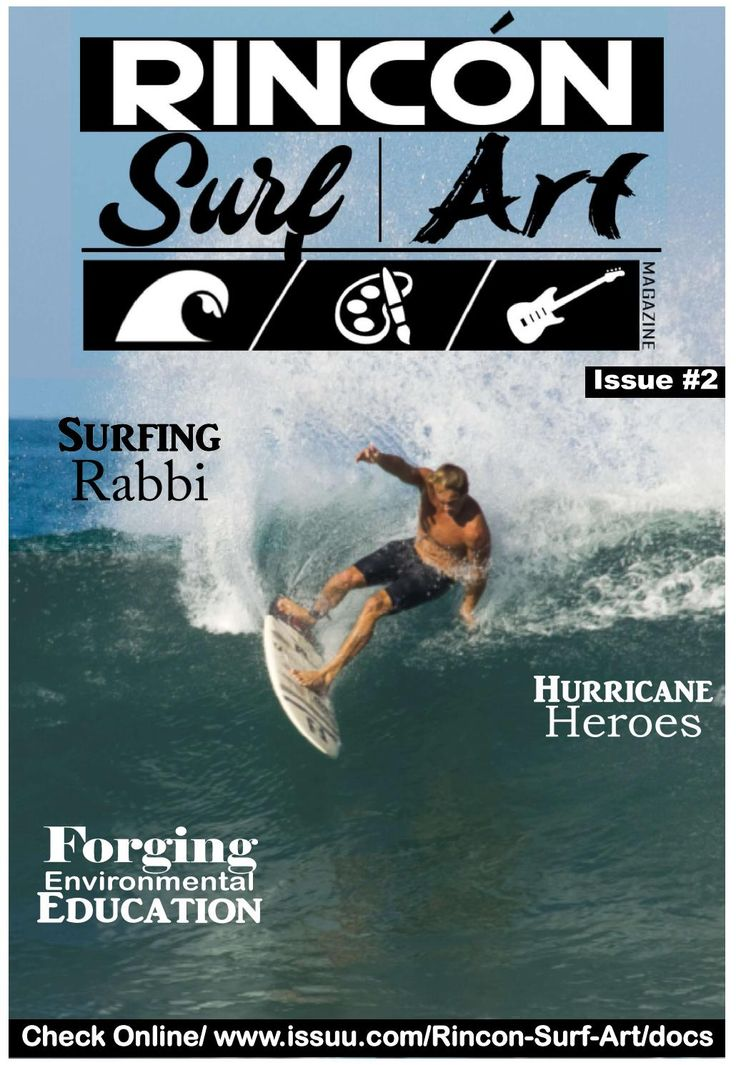 Rincon Surf Art Magazine is all about Rincon and West Coast fun and activities. Covering Surfing, Artists (musicians)