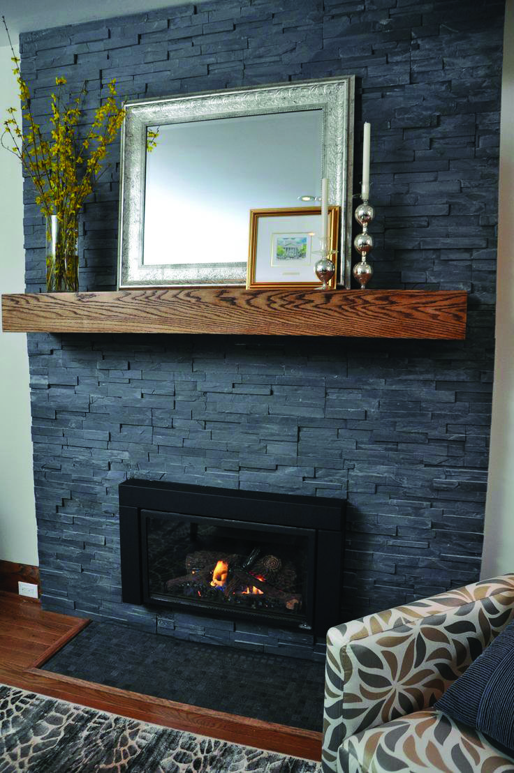 20 Beauty Fireplace Tile Ideas Painted Stone Fireplace Home