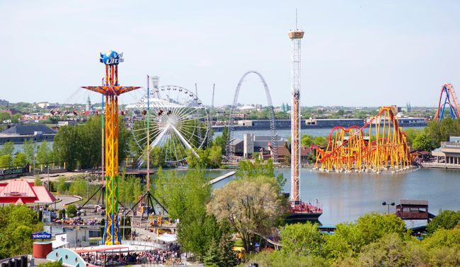 La Ronde, Montreal: Canada's second largest amusement park, beat only by Toronto's Canada's Wonderland, is one of the top summer spots for families in Quebec. Opened in 1967 as the midway for Expo 67, there are a total of 40 rides at the park. The world's highest double track coaster, Le Monstre, and a Nintendo video game zone are popular draws. (JOEL LEMAY/QMI Agency)