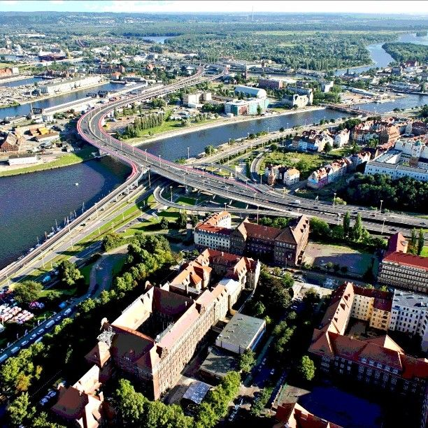 Subject: Szczecin in Poland.  It's the best way to show your company/plant from a bird's eye view or to make an advertisement of a city (for a government) or a lot of different ideas. Contact: Kontakt@aeropix.pl