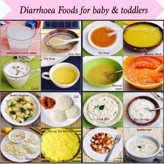 Infant Diarrhea Foods To Eat