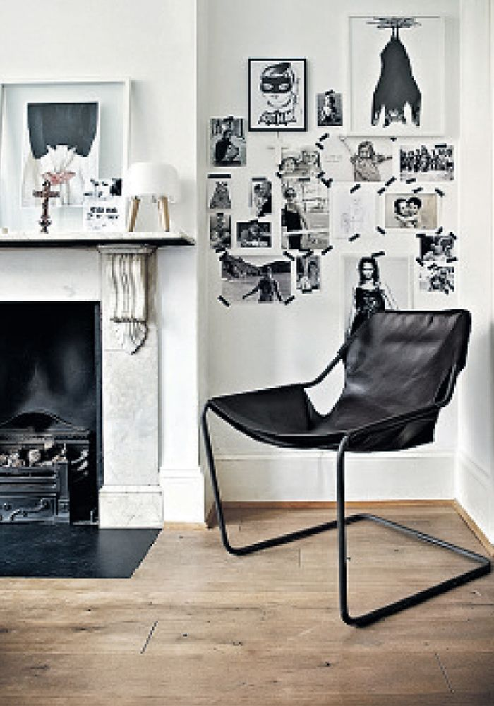 Objekto Paulistano chair, Black leather cover. Order from Bodie and Fou — Bodie and Fou - Award-winning inspiring concept store