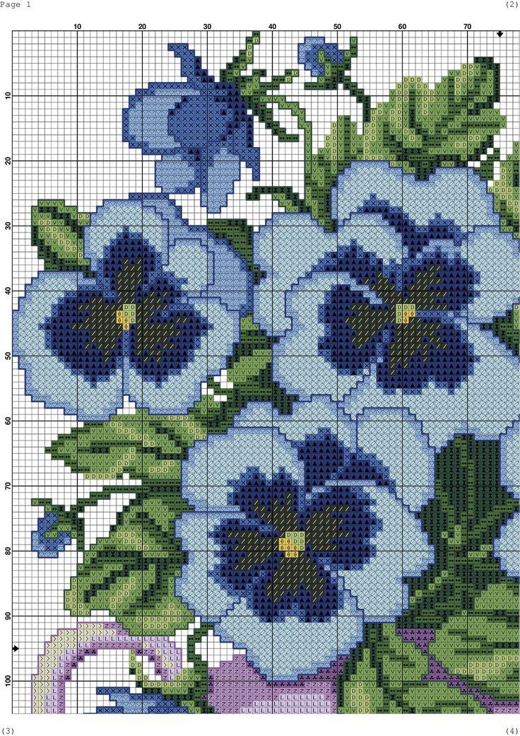 Blue Flowers 3/6