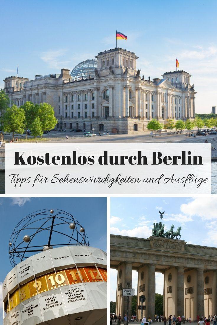 Eine Stadtereise Nach Berlin Muss Nicht Teuer Sein Es Gibt Eine Vielzahl Von Sehenswurdigkeiten Und Aktivitaten Die Kosten Berlin Urlaub Berlin Reise Ausflug