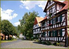 Dorfstraße in Wanfried-Altenburschla
