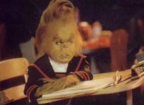 When your are ready for christmas break, but you still have work to do first