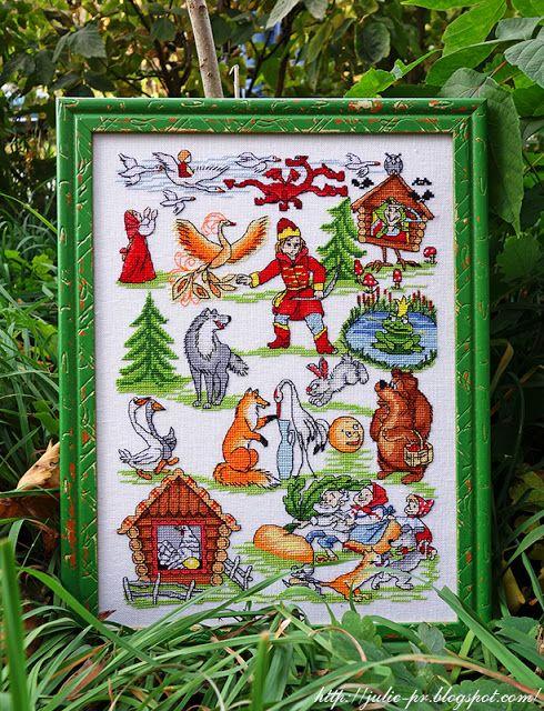 Русские народные сказки о вышивке
