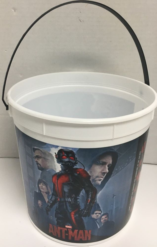 Marvel Comics Ant Man Movie Popcorn Bucket | eBay