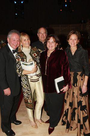 Jeffrey Garten, Barbara Liberman, Robert Liberman, Ina Garten and Elizabeth Monaco McCarthy