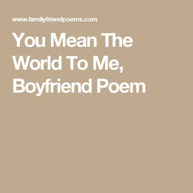 Quotes About Love For Him: 25+ Best Ideas About Boyfriend Poems On Pinterest