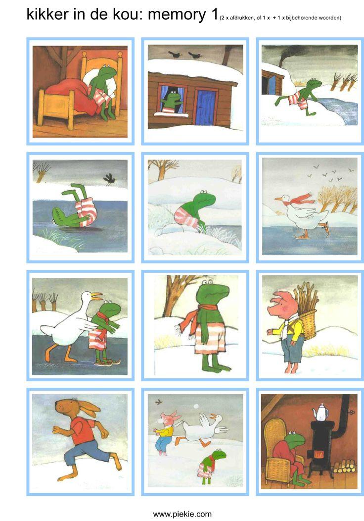 Memory deel 1: Kikker in de kou
