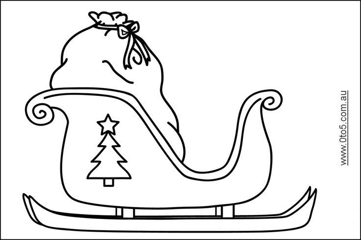 santa sleigh - Google Search