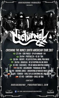 Long Live The Loud 666: NOCTURNAL CRUSHING THE BONES SOUTH AMERICAN TOUR 2...