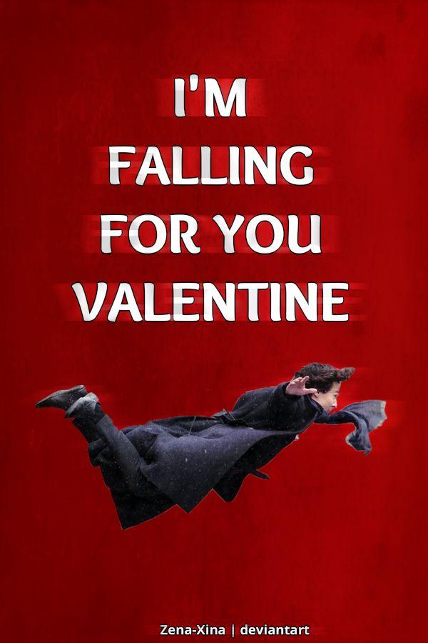 Iu0027m Falling For You Valentine Sherlock