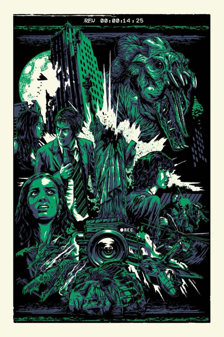 Cloverfield - mondo poster