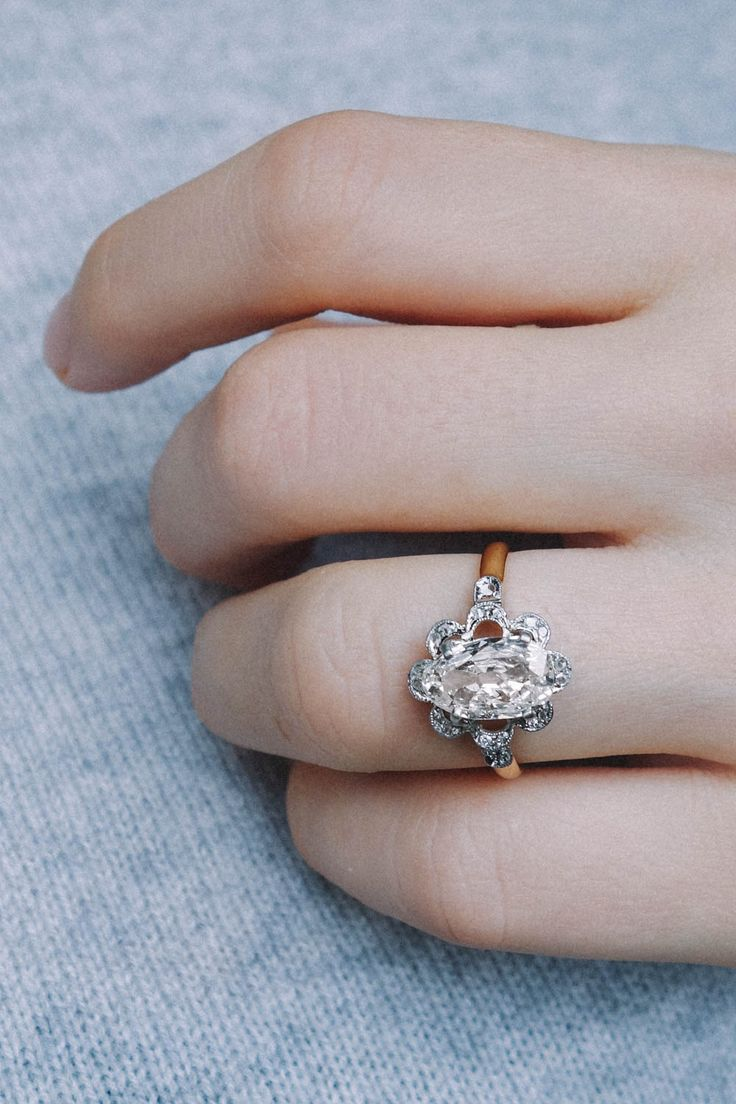 antique repurposed over rings on engagement to ring vol etsy swoon
