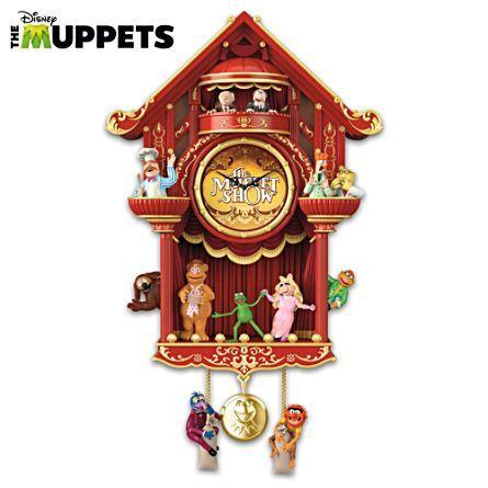 """Disney """"Die Muppet Show"""" Kuckucksuhr"""