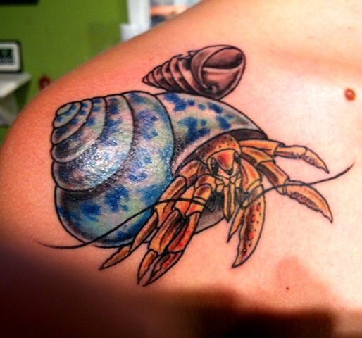 hermit crab tattoo - Google Search