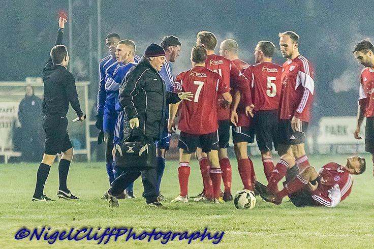 https://flic.kr/p/CLXM1D | AFC Wulfrunians 3  Dunkirk 0 19.01.2016 00009 | Hellfire it was cold at misty Castlecroft as AFC Wulfrunians ran out comfortable winners against a Dunkirk side who were reduced to 10 men for much of the game.Wulfrunians move up to 6th in the Midland League whilst Dunkirk stay rooted one from the bottom