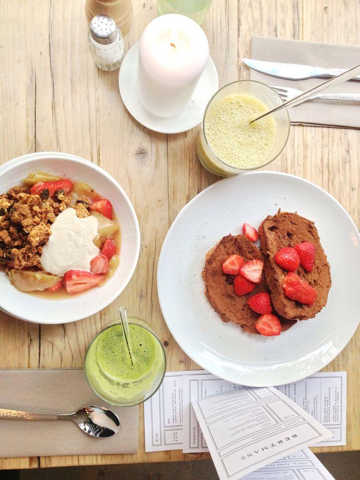 Delicious vegan breakfast at Bertmans, Rotterdam #healthy #vegan