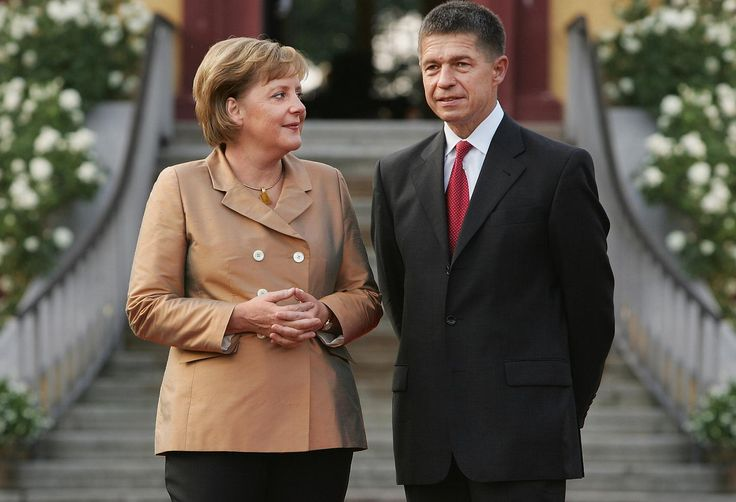 Angela Merkel mit ihrem Ehemann Joachim Sauer