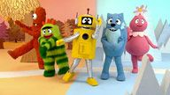 Yo Gabba Gabba the coolest, most surreal kids' show ever! Crazy costumes, Pop Art graphics electro-dance and hipster toddlers getting down with their bad selves. Ages 1 up.