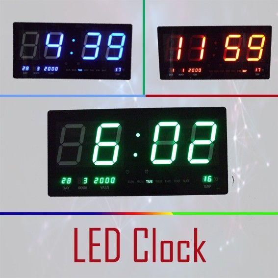 High Visible Digital Clock - Free Delivery.   Buy online at http://www.bigdiscount.com.au/led-digital-clock-large.html