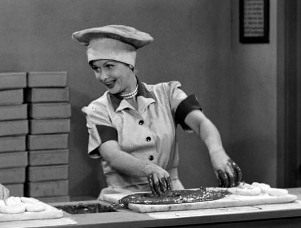 """Though the show ended in 1957, because of syndication I Love Lucy continues to be watched by approximately 40 million Americans each year. 