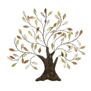 Tree of Life Wall Art Decoration Branch Shells Home $33.97Art Decor, Wall Art, Wall Decor, Life Wall, Trees Of Life, Decor Branches, Metals Trees, Tree Of Life, Branches Shells