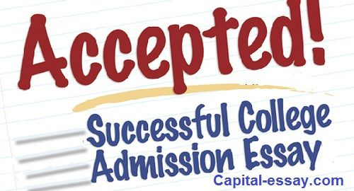 Admission writing service