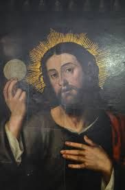 Eucharistic Saviour - Vicente Juan Masip (also known as Joan de Joanes