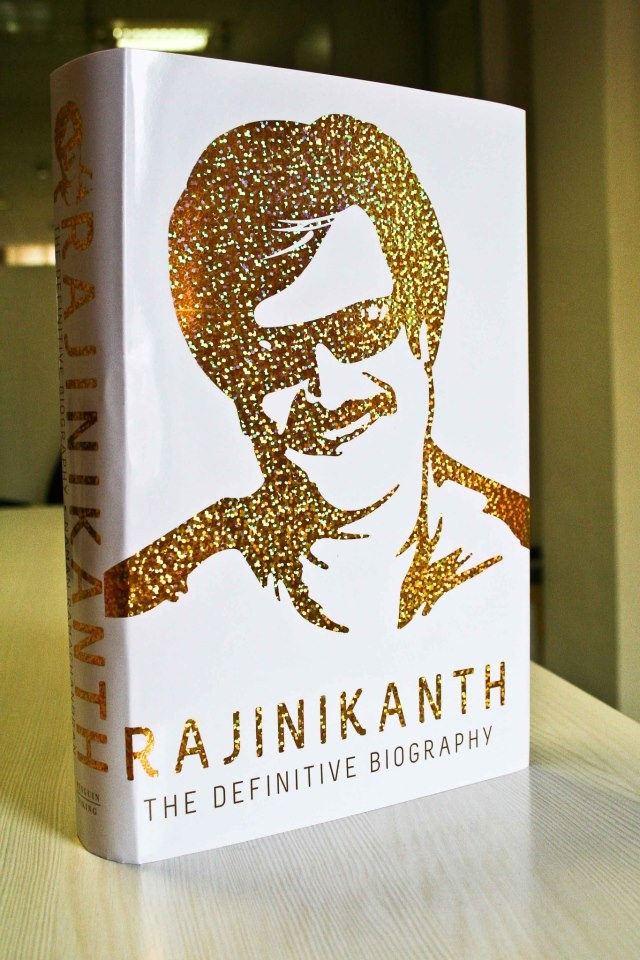 Rajinikanth - The Definitive Biography from Penguin, launching 12/12/12. Bring home the superstar.