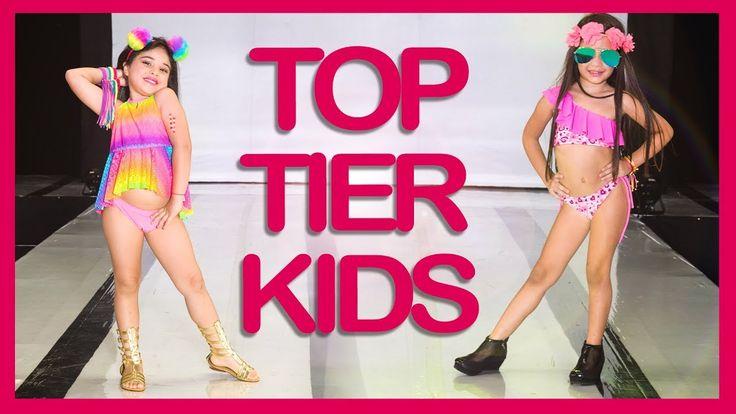 Little Girls Top Models on SWIMWEAR RUNWAY - Belankazar Specials