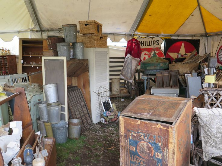 The Brimfield Antiques Show, a Guide by Food52 ~ A cool guide for any antique show or flea market :)